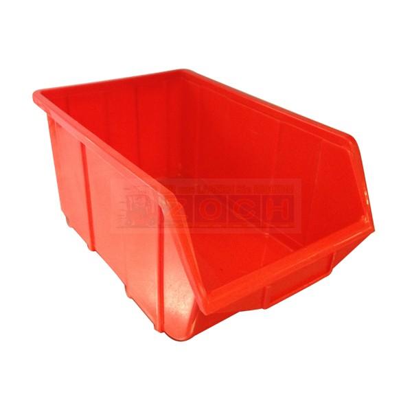 Ecobox 114 rot Einzelansicht / Lagerkasten
