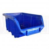 Ecobox 111 blau - Lagerkasten Einzelansicht