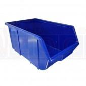 Lagerkasten Ecobox 114 blau -  Einzelansicht